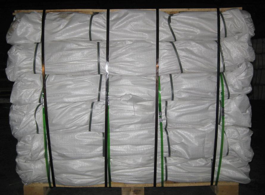 woven polypropylene bags pallet